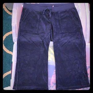 Juicy Couture capri length sweatpants